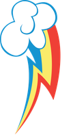 Rainbow Dash's Cutie mark by romansiii