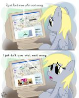 I just don't know what went wrong. by GlancoJusticar