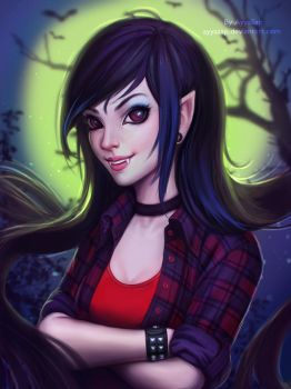 Marceline (Adventure Time) by AyyaSAP