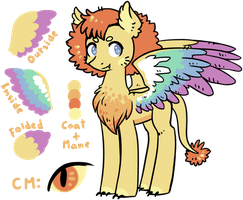 PonyXLionXParrot Adoptable - CLOSED by Reporter-Derpy