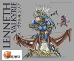 Lenneth - Bow Sprite HD by personauser