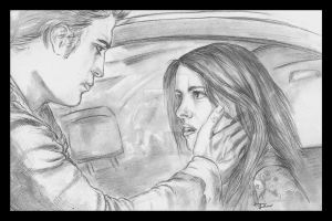 Twilight- Edward and Bella by JLafleurArt