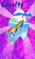 Rainbow Dash: Loyalty by bunnimation