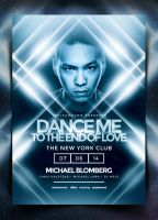 Nightclub Poster Template Vol. 3 by IndieGround