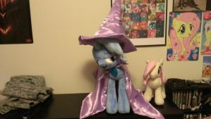 The great and powerful Trixie has arrived! by SomberMelancholy