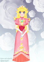 Melee PEACH :O LOOK AT IT XDD by Kimeria87