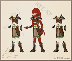 Knuckles clothes design 2) by BUGHS-22