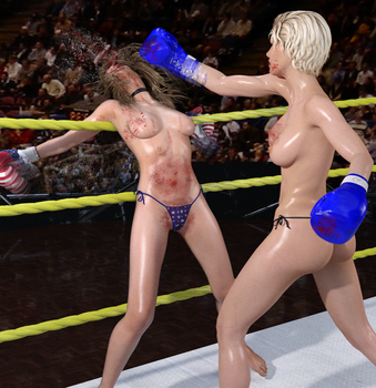 Heather vs Liz 33 by CB1964
