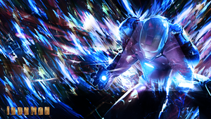 Iron Man Wallpaper by skeptec