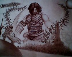 PRINCE OF PERSIA!!! by H3cT0r-Dibujos
