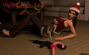 Happy new year ! by XTombRaiderxx