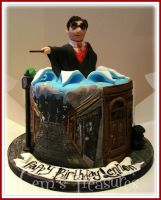 Harry Potter Says Happy Birthday by gertygetsgangster