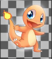 004. Charmander by Solar-Slash