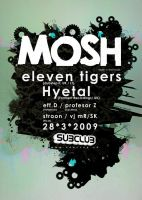 Mosh party poster by wladko