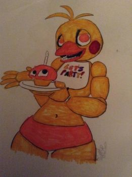 Toy Chica  by Dacat335