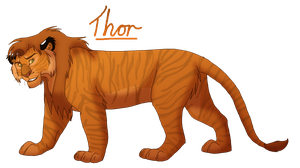 Thor the Liger by DemiiDee