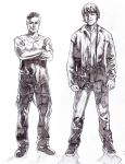 Sam and Dean Pencils by ncajayon