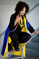 Static Shock at WonderCon by gnbcosplay