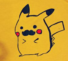 Pika Shirt (Again...) Finished! by JL0G4N