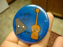 I Pick You Magnet by shandab3ar