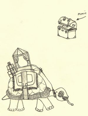 Mimic and Pack Turtle