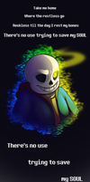 Undertale: Just Give Up, I Did by Shrineheart