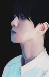 [DIGITAL PAINTING] BaekHyun 3 by Mister-Raindrop