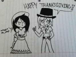 Happy Thanksgiving by Pandonic