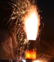 Sparking Furnace Plume - Iron Pour by leopardwolf