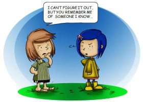 Coraline and Patty by Oddmachine