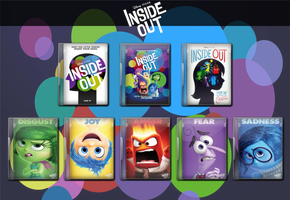 Inside Out Movie Icon Collection 2015 by WimboJallis121