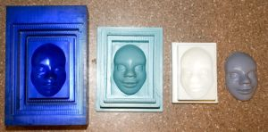 Mold Project - mold line up by UnexpectedToy