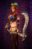 Fiddlesticks 1 by MartinWongArts