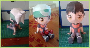 Papercraft Chibi Brendan downloadable by MountainOfCookies