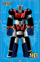 MAZINGER Z 40th by daftRAM