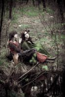 Women of the forest, resting 2 by Nivelis