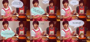 Kyumin cooking by Heedictated