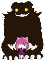 Have you seen my bear Tibbers? by Kari-chan622