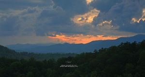 Setting Sun North Carolina by TRBPhotographyLLC