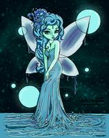 Water Fairy by pink-marshmallows