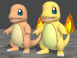 XPS Pokemon X and Y Charmander by zoid162010