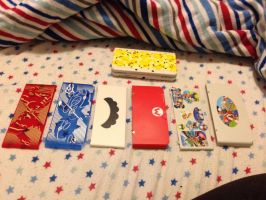 New 3DS Face-Plate collection by MarioBlade64