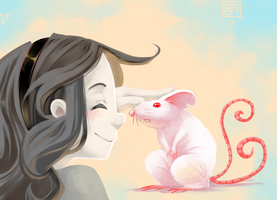 Meet the mouse by Leaglem