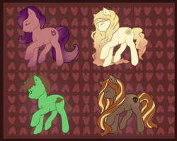 Pony Adopts: 1 left! by LuLu-Adopts