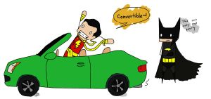 Billy 'Only kidnap in a convertible' Batson by King-of-Losers