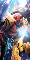 Samus Aran by xFlicker