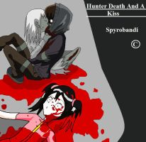 Hunter Death And A Kiss by Spyrobandi