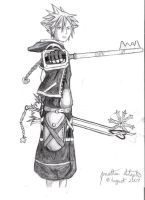 Sora: Double Keyblade Master by Messenger777