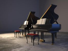 Steinway and Sons by GordonTarpley