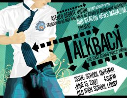 Talkback by beaconnewsmag